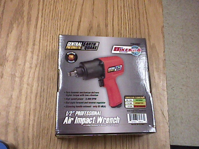 CENTRAL PNEUMATIC Impact Wrench/Driver 62627