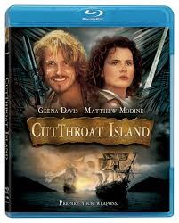 BLU-RAY MOVIE Blu-Ray CUTTHROAT ISLAND