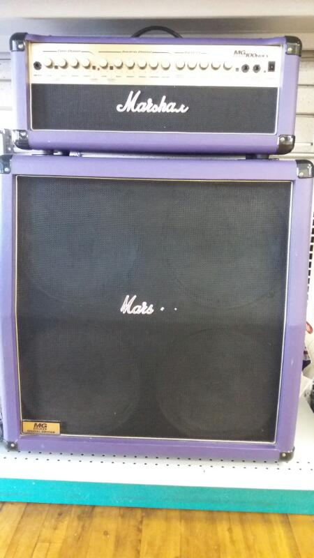 MARSHALL Electric Guitar Amp MG100 HDFX