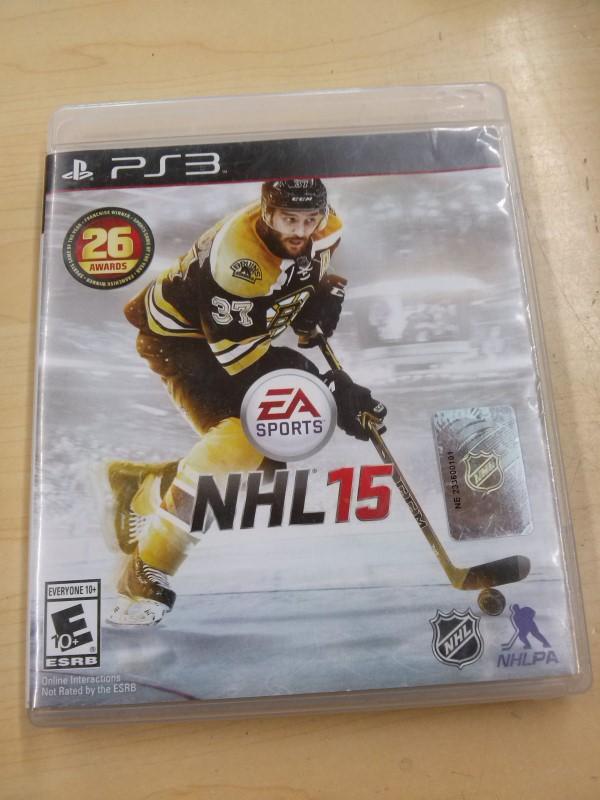 SONY Sony PlayStation 3 Game NHL 15 PS3