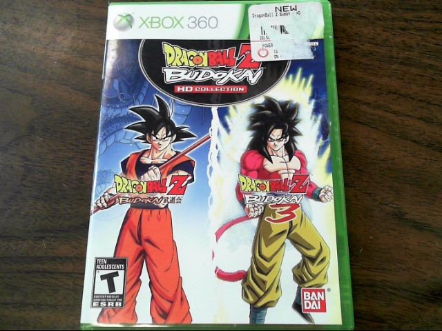MICROSOFT Microsoft XBOX 360 Game DRAGONBALL Z BUDOKAI HD COLLECTION