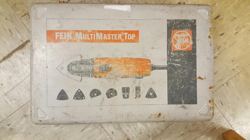 Fein MSXE-636-II MultiMaster Variable Speed Tool, Manual & Accessories