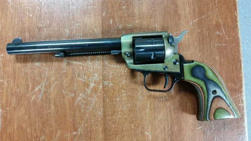 HERITAGE FIREARMS REVOLVER RR22CH6 ROUOGH RIDER 22LR