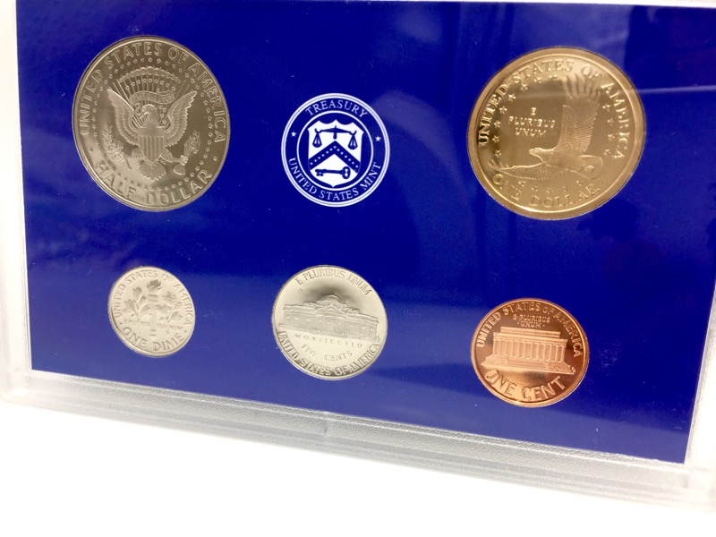 2006 United States Proof Set - 10 Coins - With Box & COA