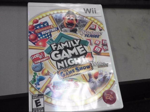 NINTENDO Nintendo Wii Game FAMILY GAME NIGHT 4 THE GAME SHOW