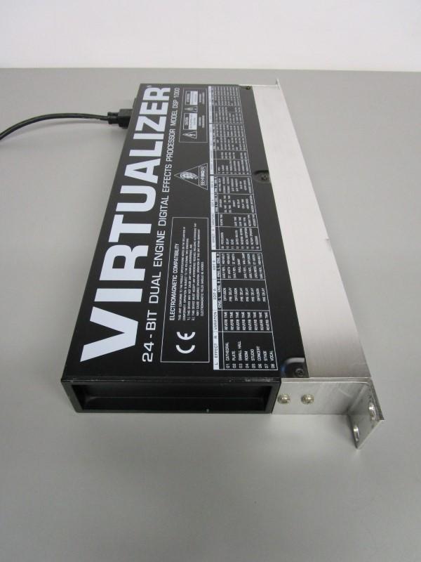 BEHRINGER DSP 1000 VIRTUALIZER 24-BIT DUAL ENGINE DIGITAL EFFECTS PROCESSOR