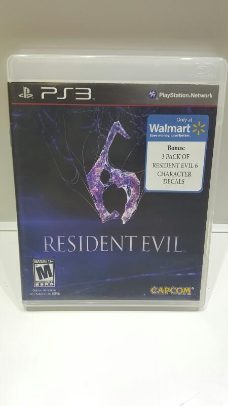 SONY PS3 RESIDENT EVIL 6