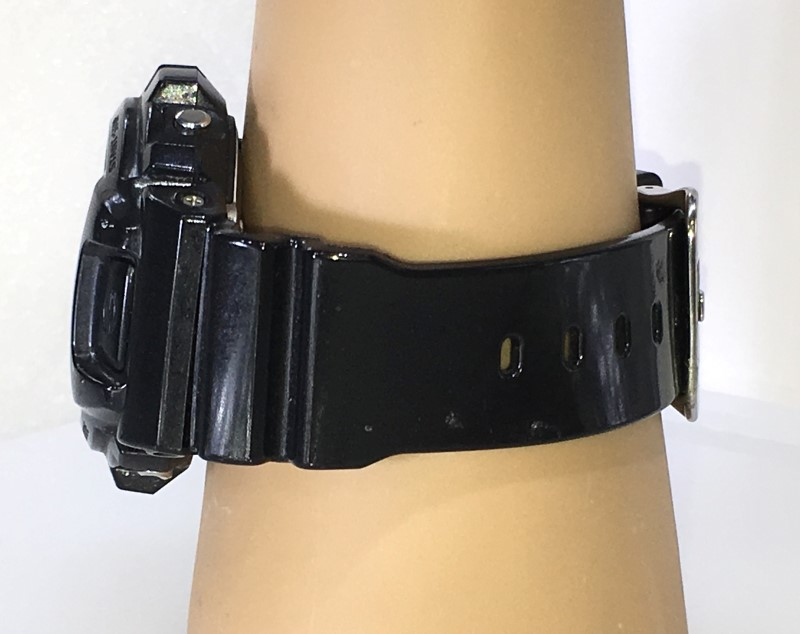 Casio G-Shock DW-6900CC Black Shock Resistant Chrono Digital Watch