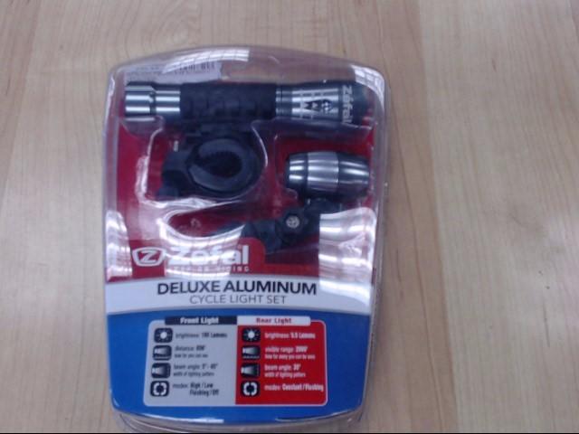 ZEFAL DELUXE ALUMINU CYCLE LIGHT SET 5652