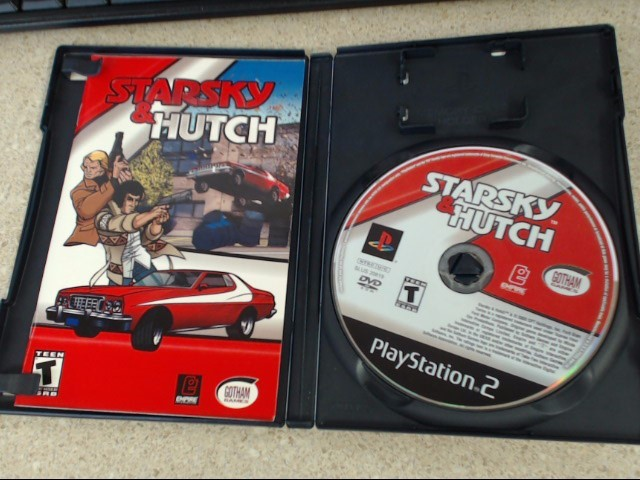STARSKY & HUTCH - PLAYSTATION 2 GAME - Complete
