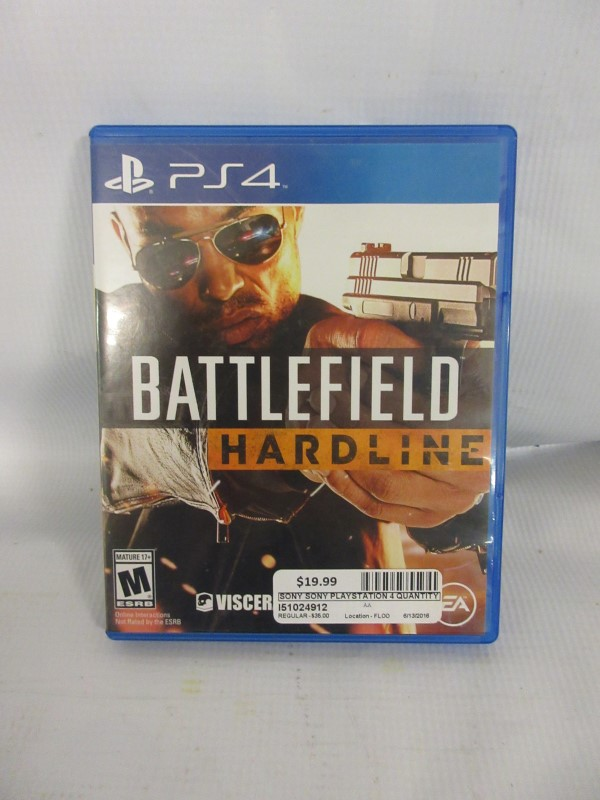 Battlefield Hardline, PS4
