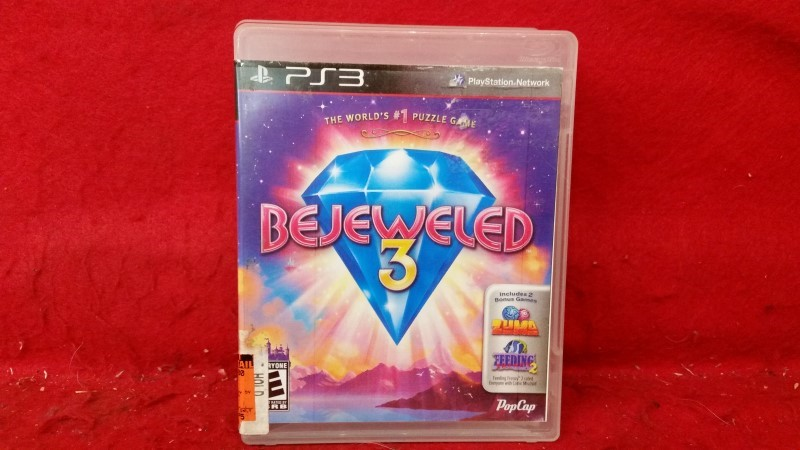 Bejeweled 3 (Sony PlayStation 3, 2011)