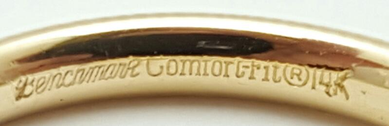 Gent's Gold Ring 14K Yellow Gold 4.4g Size:12.8