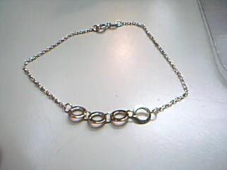 Silver Bracelet 925 Silver 2.1g