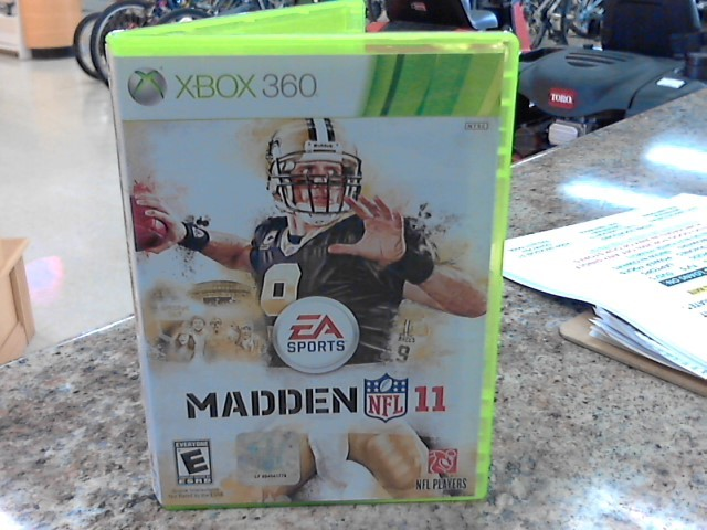 MICROSOFT Microsoft XBOX 360 Game MADDEN NFL 11 - XBOX 360