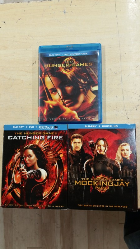 THE HUNGER GAMES 1-3