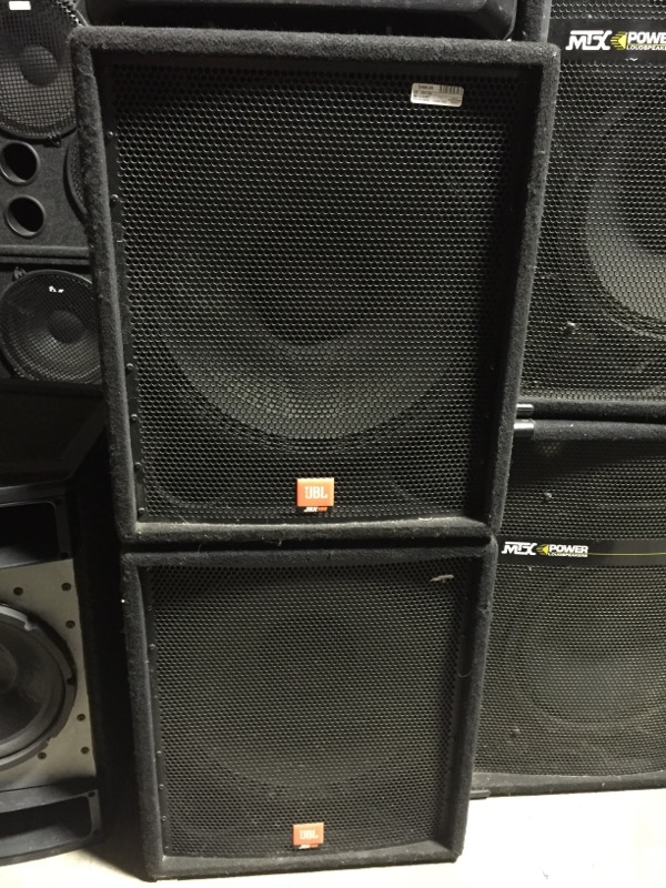 JBL DJ Equipment JRX100