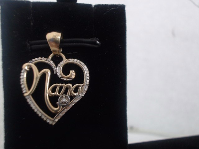 Gold Charm 10K Yellow Gold 0.6g