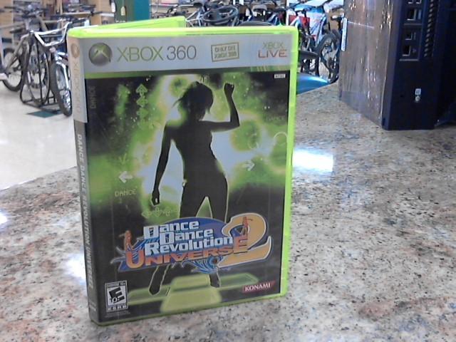 MICROSOFT Microsoft XBOX 360 Game DANCE DANCE REVOLUTION UNIVERSE 2