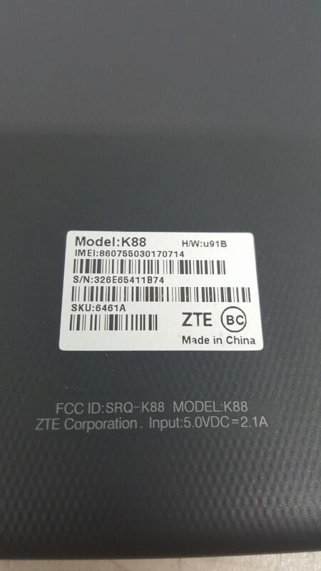 """AT&T Trek 2 HD, 16gb (8"""", K88, Black)"""