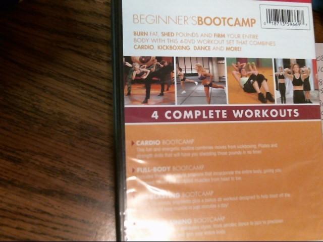 Beginner's Bootcamp 4 DVD Workout Set