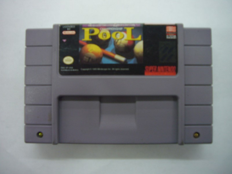 NINTENDO SNES Game CHAMPIONSHIP POOL *CARTRIDGE ONLY*