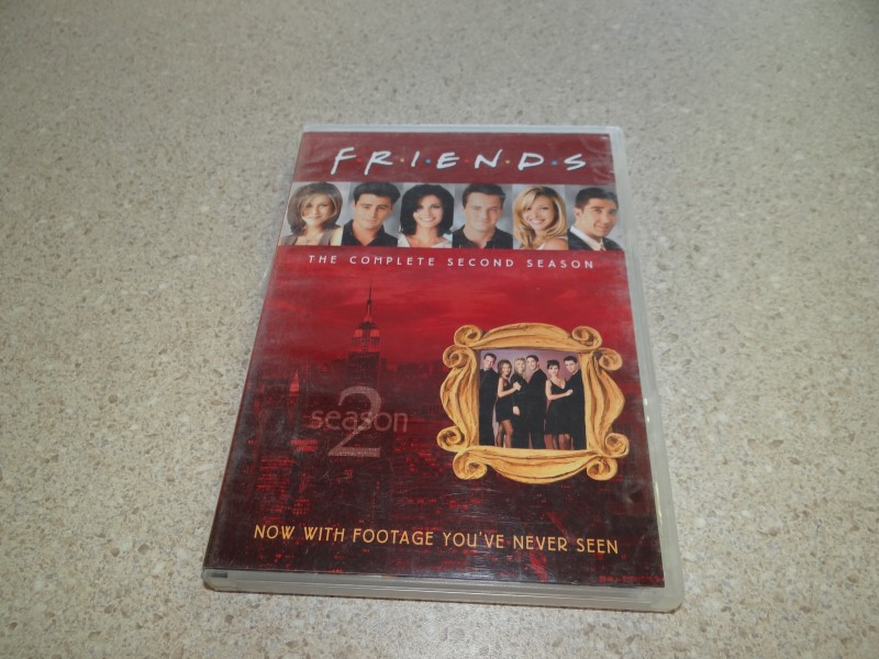 FRIENDS THE COMPLETE SECOND SEASON - 4 DVD SET