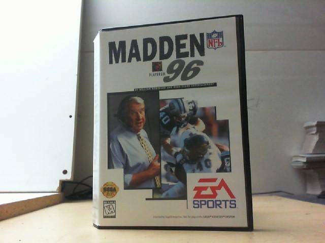 SEGA Vintage Game MADDEN 96