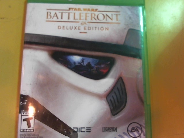 MICROSOFT Microsoft XBOX One Game STAR WARS BATTLEFRONT XBOX ONE