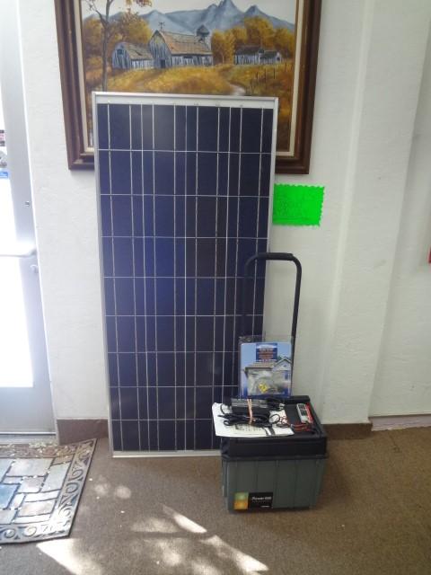 SHARP SOLAR PANEL STARTER KIT