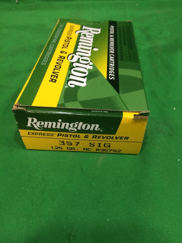 REMINGTON FIREARMS & AMMUNITION Ammunition UMC .357 SIG