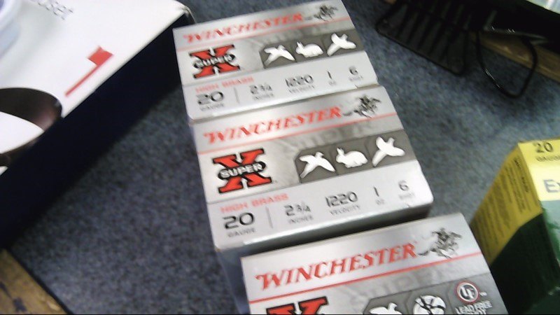 "WINCHESTER Ammunition SUPER-X HIGH BRASS 28GA 2 3/4"" #6 SHOT"