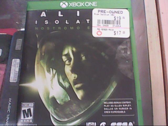 MICROSOFT Microsoft XBOX 360 Game ALIEN ISOLATION NOSTROMO EDITION