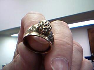 Lady's Diamond Fashion Ring 25 Diamonds .25 Carat T.W. 10K Yellow Gold 6.03g