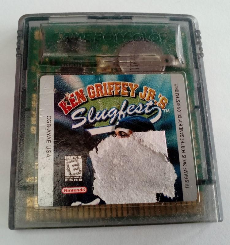 KEN GRIFFEY JR.'S SLUGFEST GAME FOR NINTENDO GAMEBOY (1999)