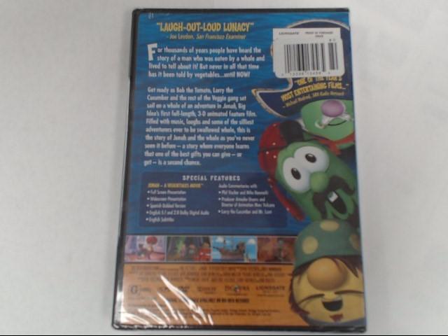 DVD BIG IDEA'S JONAH A VEGGIETALES MOVIE
