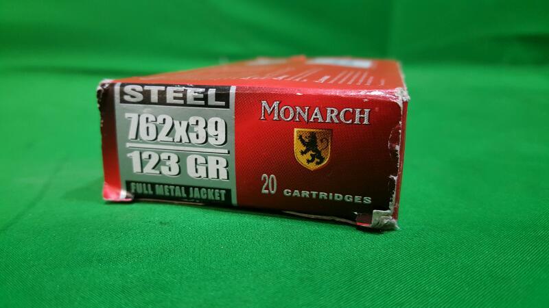 MONARCH AMMO Ammunition 7.62X39