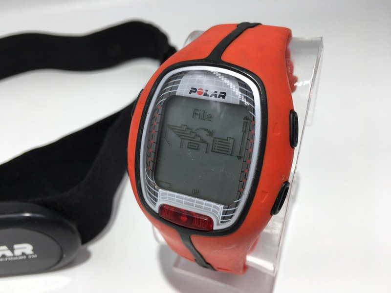 Polar RS300X Sports Watch with Heart Rate Monitor - WORKING