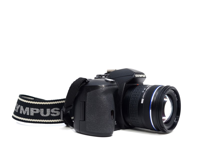 Olympus E-510 DSLR Camera 10MP 2x Lens Bundle 14-42mm 40-150mm >