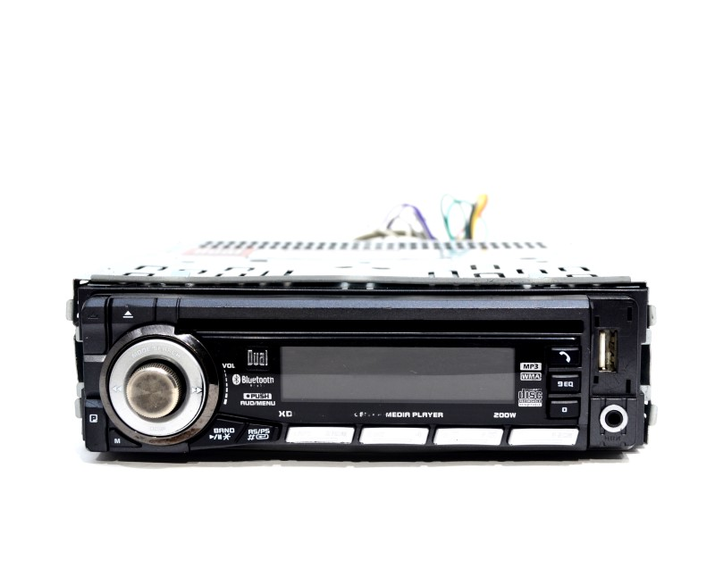 Dual Electronics XDM6400 CD Receiver In Dash Car Stereo AS IS >