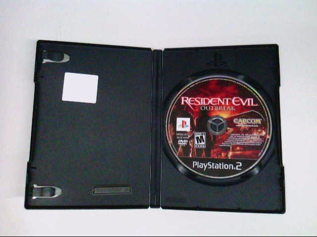 SONY Sony PlayStation 2 Game RESIDENT EVIL OUTBREAK