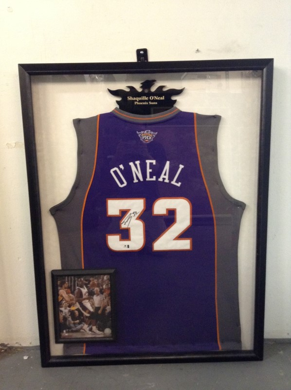 SHAQUILLE O' NEAL Sports Memorabilia AUTOGRAPHED JERSEY