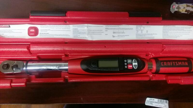 CRAFTSMAN Torque Wrench model 47711