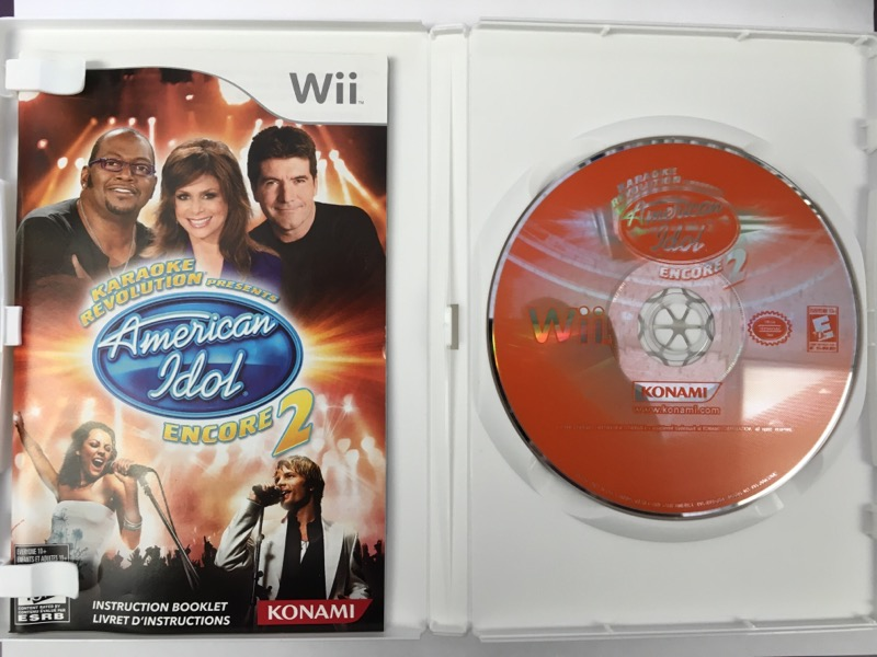 American Idol: Encore 2 - (Nintendo Wii, 2008)