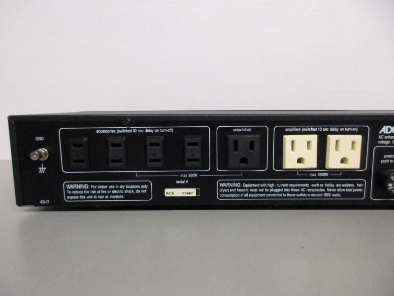 ADCOM ACE-515 AC POWER ENHANCER