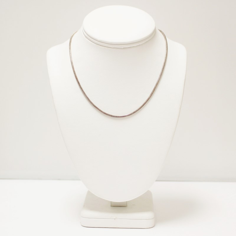 """16"""" Sterling Silver Snake Chain"""