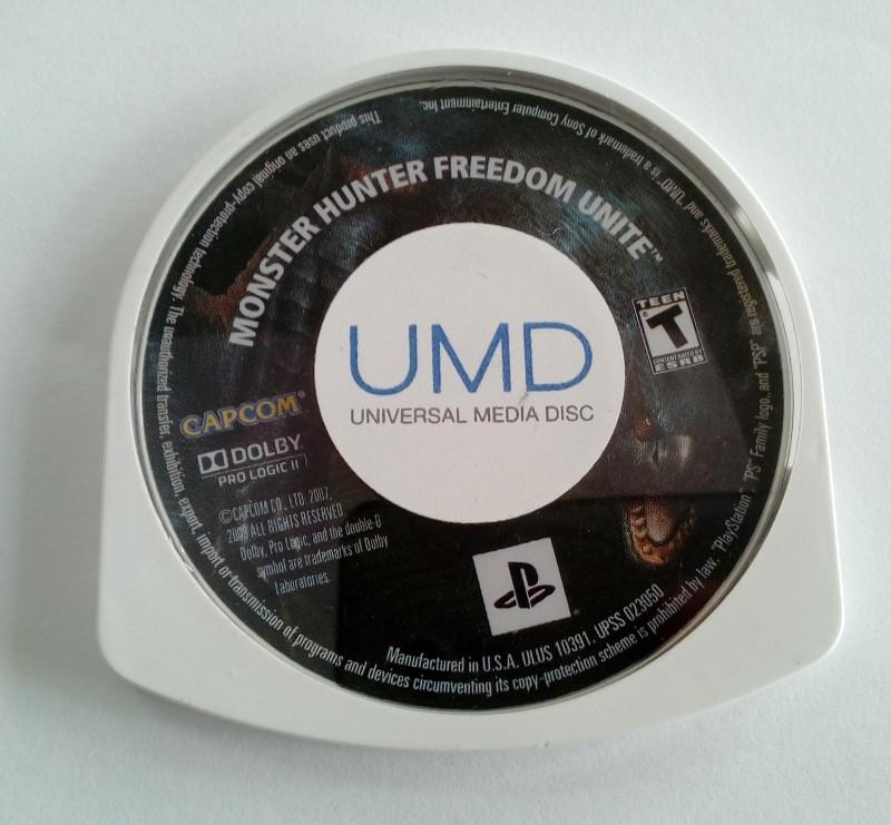 MONTER HUNTER FREEDON UNITE-PSP GAME ONLY