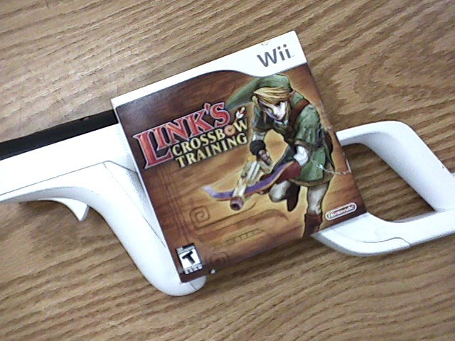 Nintendo Wii Game Links crossbow training