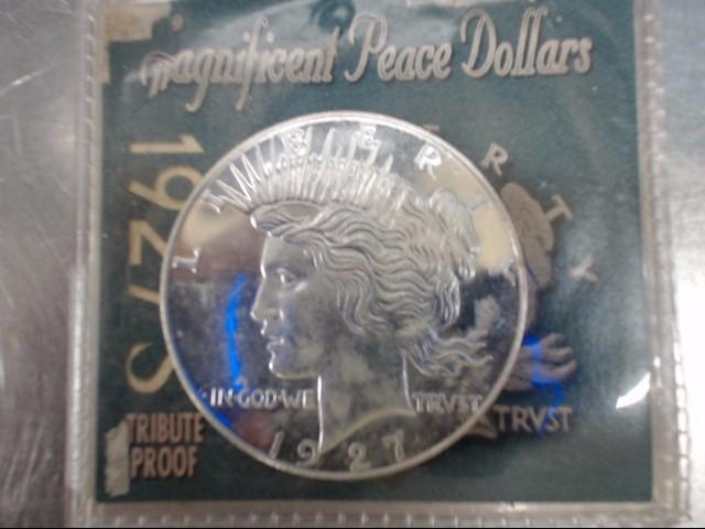 U.S. (GOV'T) Silver Coin LIBERTY 1927