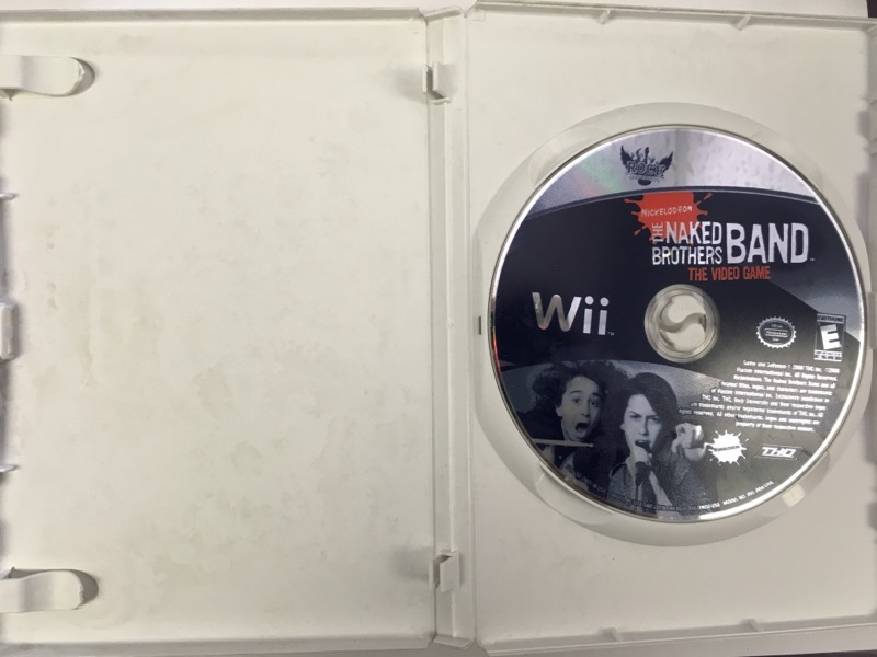 The Naked Brothers Band The Video Game - (Nintendo Wii, 2008)